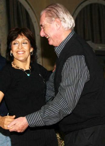 Patricia Leal, Augusto Lapeyre [Foto Cristina Rivera]