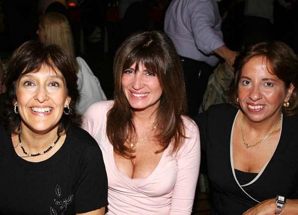 Patricia Leal, Cristina Rivera e Inés Araujo [Foto Cristina Rivera con asistencia de Augusto Lapeyre]