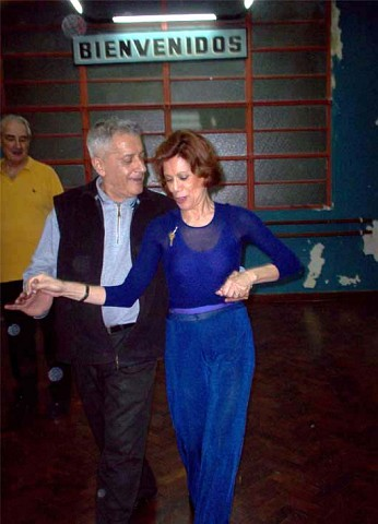 Que buena pareja de baile. Alberto Agüero, Martha Lasso