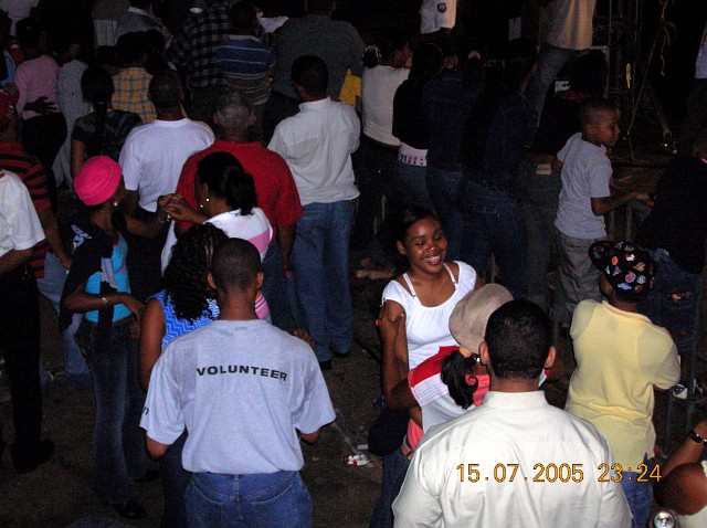 Festival del Merengue 2005, Santo Domingo, 14 al 17 de julio<br>Concurrentes