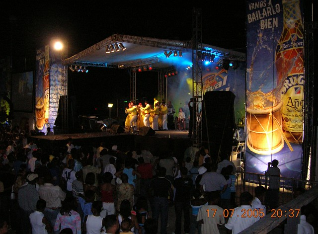 Festival del Merengue 2005, Santo Domingo, 14 al 17 de julio<br>Concurrencia