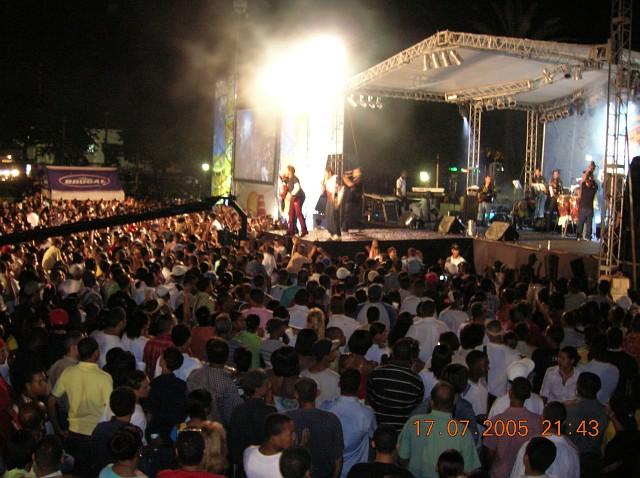 Festival del Merengue 2005, Santo Domingo, 14 al 17 de julio