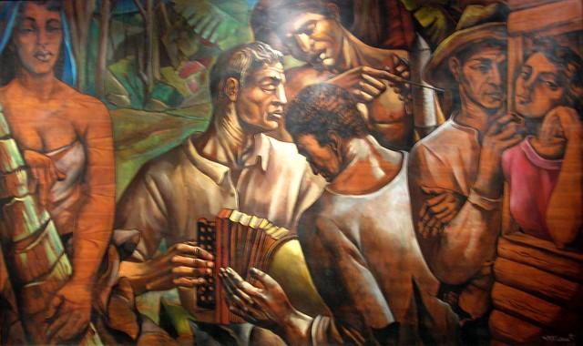 José Vela Zanetti (1923-1999), Sin Título, 1960, Oleo, 117 x 202.5
