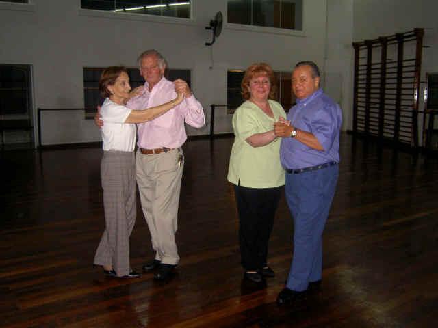 Ninina y Héctor, Beatriz y Enrique