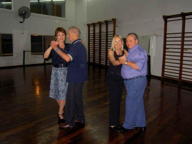 Raquel y Alfredo, Irene y Enrique