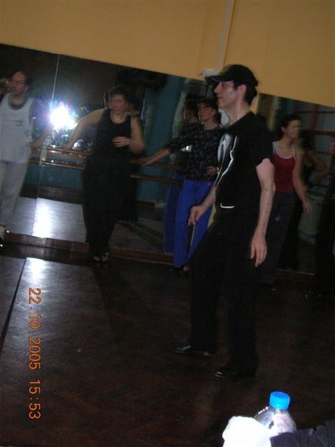 Ensayos para el Show de Tap 2005