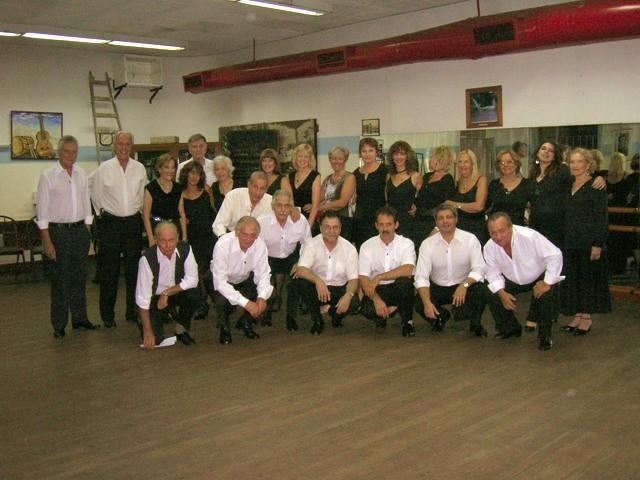Tango de Salón en Geba, Profesor Eduardo Micheli