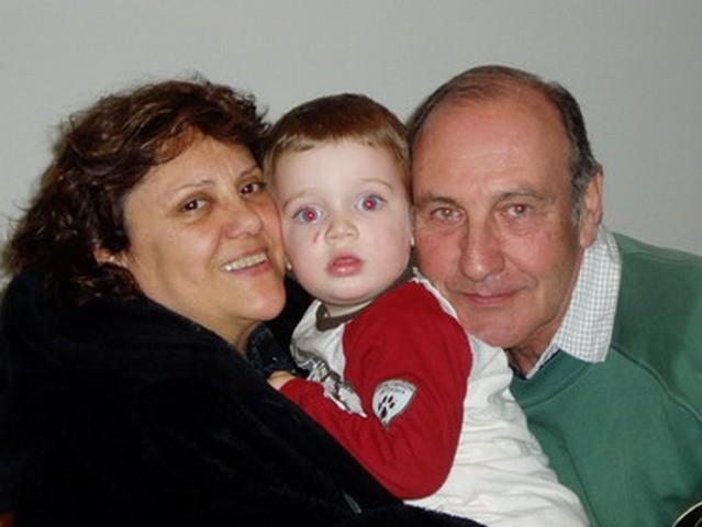 Cristina Salcedo, bautismo del nieto y mi cumple