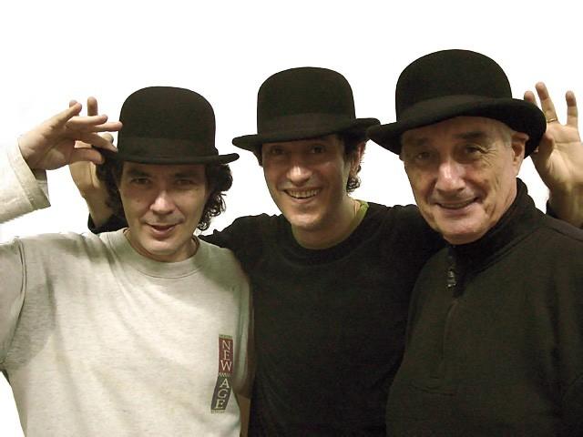Clase de Tap. Sábado 8 julio 2006. Alejandro Lapeyre, Héctor Maugeri y Agusto Lapeyre