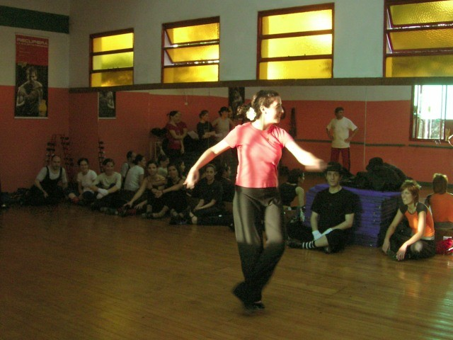 Costanza Asquini. Clase de Tap. domingo 29 octubre 2006.