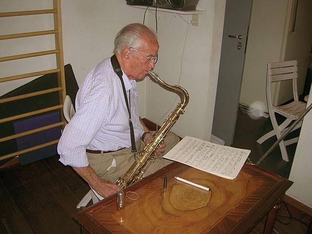 Sesiones de grabación para Y Todo es Tap (1,2 y 3 nov 2006)