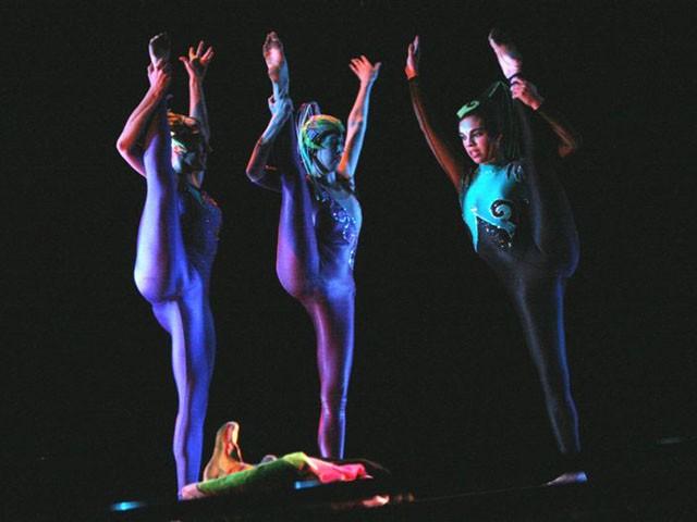 'La cremallera'. Y todo es tap. Teatro Astral. 22-nov-2006