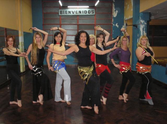 Danza Árabe, Graciela Lovarvo