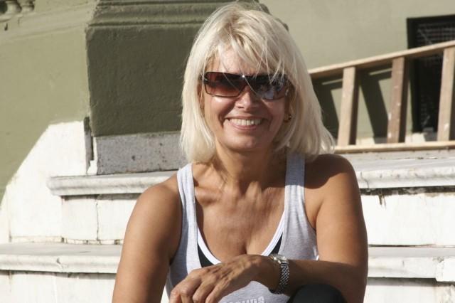 Sol Ritmo y Fotos<br>Clase de Aerolatino con el Profesor Carlos (Charly) Calatrava el domingo 6 de abril 2008 [Foto Cristina Rivera para la Newsletter Aerolatino de Geba]