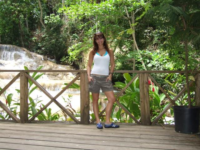 En Dunn's Falls (Ocho Ríos) [Foto María Laura García]