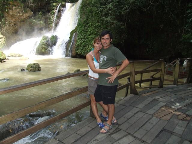 En YS Falls[Foto María Laura García]