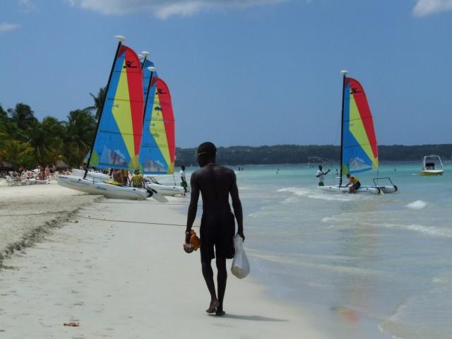 En las playas de Negril [Foto María Laura García]