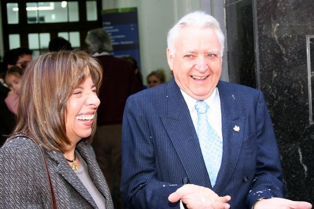 Inés Araujo y Bernard Hugues [Foto Cristina Rivera]