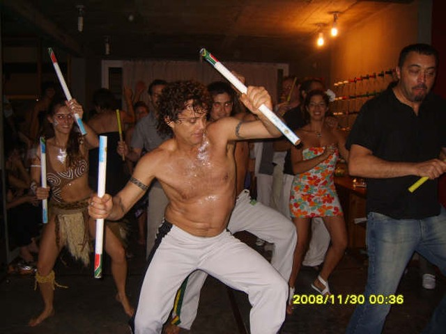 Primer show del grupo Afro Bambara. [Foto Fabián Edgardo Biscione]