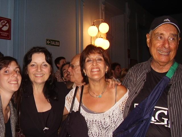 Ludmila Pawlusiak, Alicia Monsalve, Patricia Leal, Augusto Lapeyre