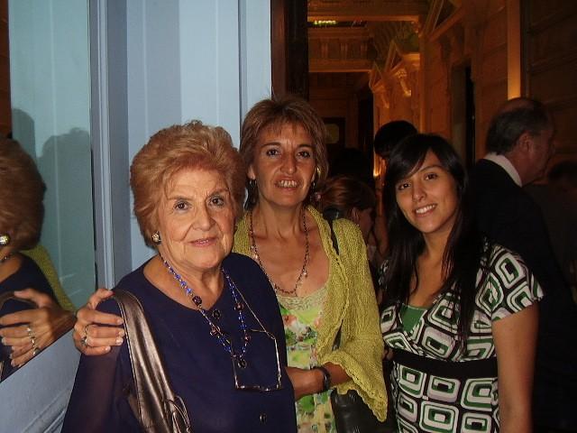 Florinda Romero, Rosana Leal, Teresita Bañon Leal