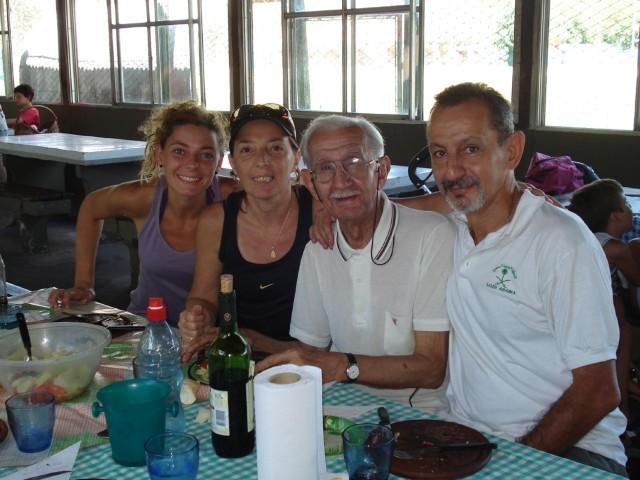 Carolina Sabella, Viviana de Sabella, Jorge Luis (Toto) Sabella, Marcelo Sabella