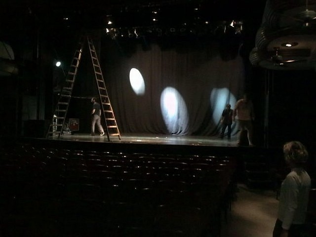 Backstage Fantasía en Blanco y Negro