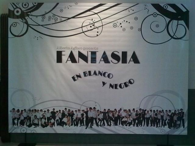 Backstage Fantasía en Blanco y Negro [Foto Analía Budkin]