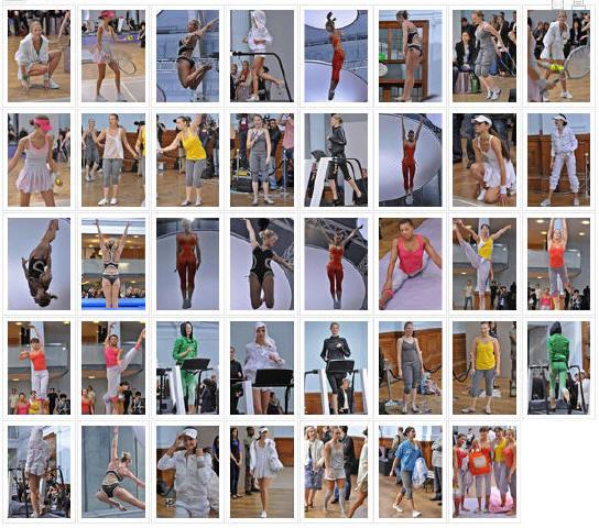 - Défilé Stella McCartney pour Adidas P-A-P, Printemps-été, 2009, Prêt-à-porter