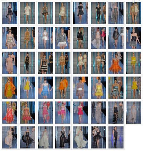 Défilé Dior P-A-P, Printemps-été, 2009, Prêt-à-porter