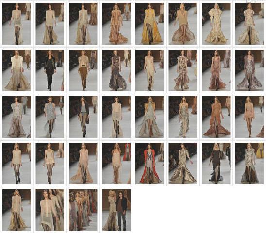 - Défilé Nina Ricci P-A-P, Printemps-été, 2009, Prêt-à-porter