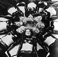 "Busby Berkeley's ""Lullaby of Broadway""production number fromGold Diggers of 1935"