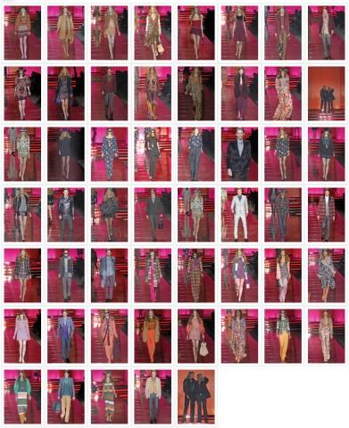 Défilé Just Cavalli, P-A-P, Automne-Hiver, 2008-2009, Prêt-à-porter