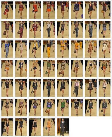 - Défilé Louis Vuitton P-A-P, Printemps-été, 2009, Prêt-à-porter