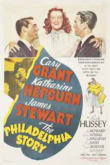 AnonymousTHE PHILADELPHIA STORY1940, M.G.M., U.S. one-sheet, style C, condition B; backed on linen, conservation framed41 x 27in. (104 x 69cm.) SALE 9575 — Lot 151VINTAGE POSTERS / 30 October 2013London, South KensingtonPrice Realized £5,250 ($8,421)