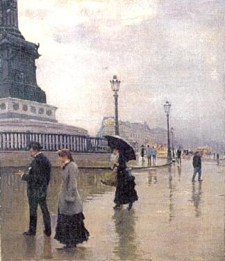 Jean Béraud (French, 1849-1936)Bastille