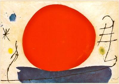 Joan Miro (1893-1983)The Red Sun /