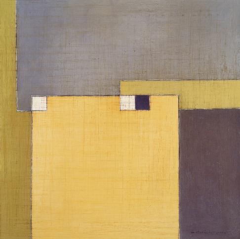 """Antonia Guzmán<br>""""Tarde luminosa""""<br>Año: 2013<br>Técnica: Pintura<br>Tamaño: 50x50 cm"""