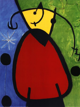 "Joan Miro (1893-1983)<br>Painting ""Daybreak"""