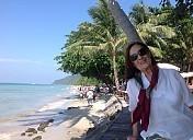 Feliz Navidad desde Isla de Kochang en Tailandia (Hilda Lapeyre de Virdó)